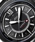 Globetrotter black steel diamond watch Sale - jbw Sale
