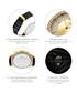 Mondrian 18k gold-plated diamond watch Sale - jbw Sale