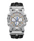 Phantom diamond & black leather watch Sale - jbw Sale