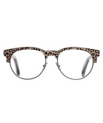Party Leopard vintage style glasses