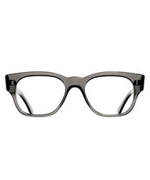 Crystal black clear lens glasses