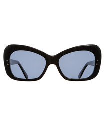 Zeiss black thick framed sunglasses