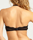 Black lace high-rise bra Sale - Lace up Sale
