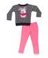 2pc cat print cotton blend outfit set Sale - denokids Sale