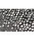 Galaxy grey embroidered cushion 50cm Sale - riva paoletti Sale