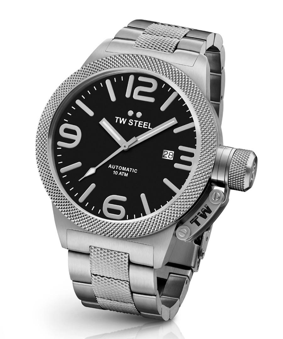 Canteen silver-tone metal strap watch Sale - tw steel