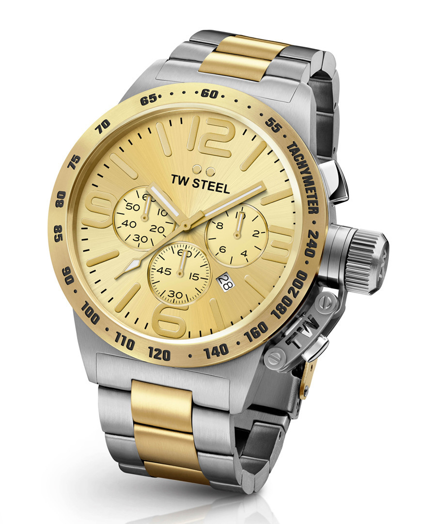 Canteen silver-tone & gold-tone watch Sale - tw steel