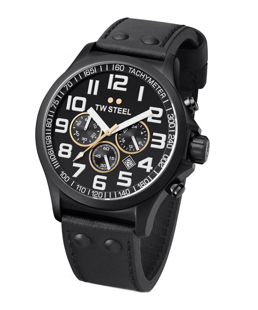 Black quartz watch Sale - tw steel