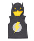 Grey cotton blend sleeveless bat hoodie Sale - Mushi Sale