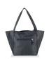 Navy leather shoulder bag Sale - woodland leathers Sale