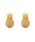 14k gold-plate pineapple stud earrings Sale - diamond style Sale