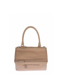 Women's Pandora pink leather handbag