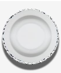 White deep plate 23cm