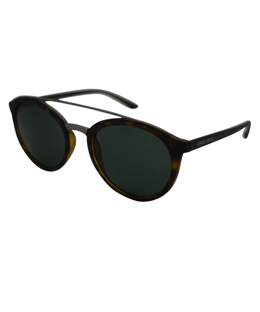 16cbce707f8c Havana   grey aviator sunglasses Sale - giorgio armani Sale ...