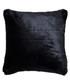 Russ black faux fur cushion 45cm Sale - riva paoletti Sale