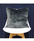 Russ navy faux fur cushion 45cm Sale - riva paoletti Sale