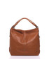Caramel pure leather slouch shoulder bag Sale - anna morellini Sale