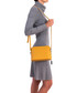 Yellow leather compact crossbody Sale - anna morellini Sale