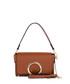 Tan leather metal zip grab bag Sale - anna morellini Sale