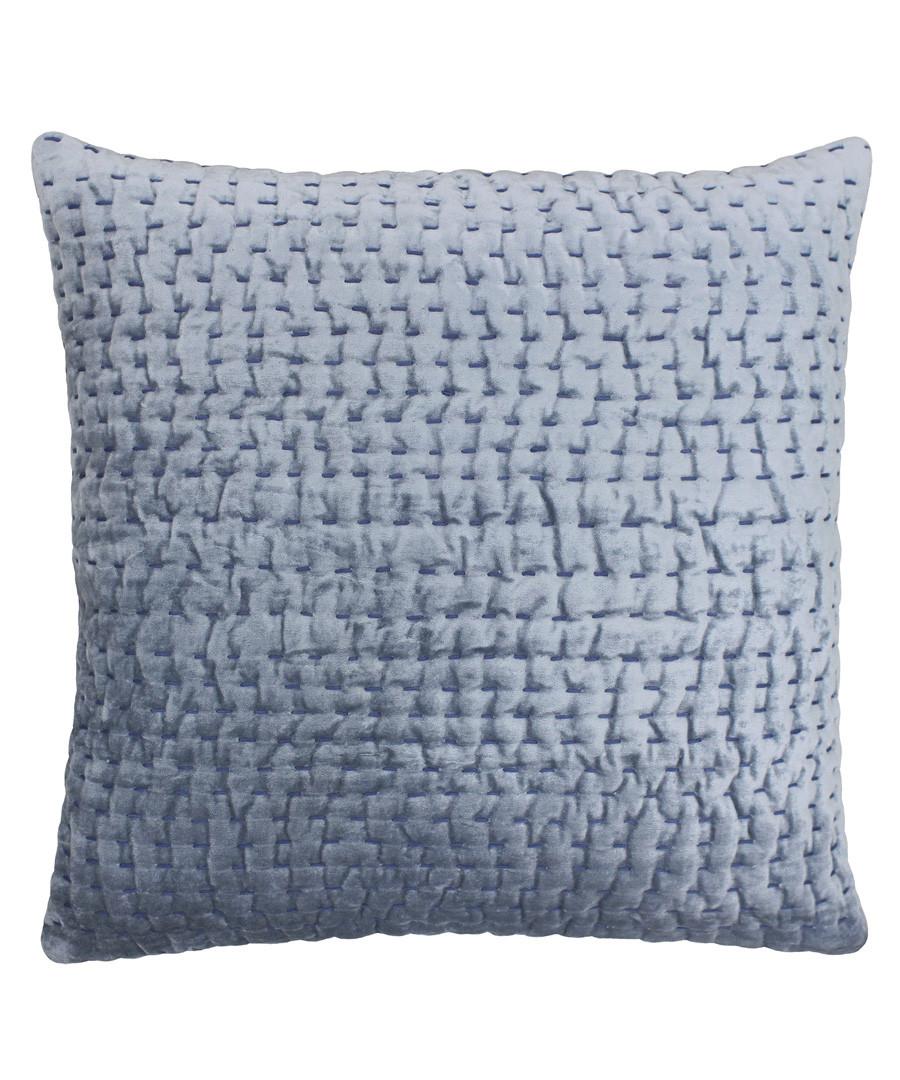 Gawsworth denim weave pattern cushion Sale - riva paoletti