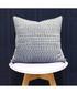 Gawsworth denim weave pattern cushion Sale - riva paoletti Sale