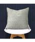 Gawsworth silver weave pattern cushion Sale - riva paoletti Sale
