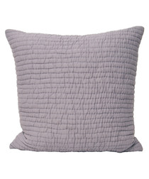Chalon heather weave pattern cushion