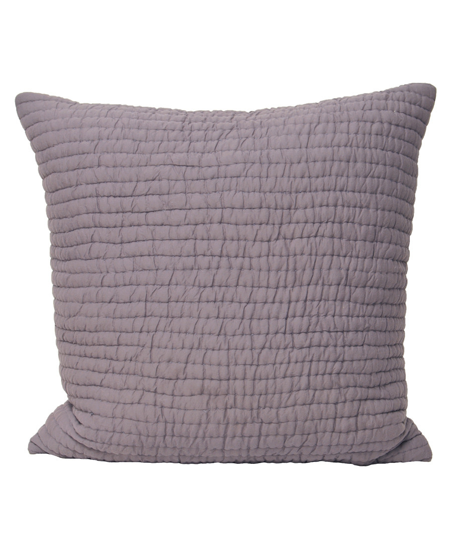 Chalon plum weave pattern cushion Sale - riva paoletti