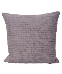 Chalon plum weave pattern cushion