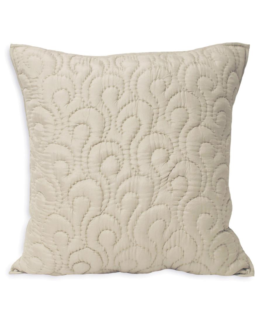 Nimes champagne pattern cushion 55cm Sale - riva paoletti