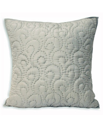 Nimes grey pattern cushion 55cm