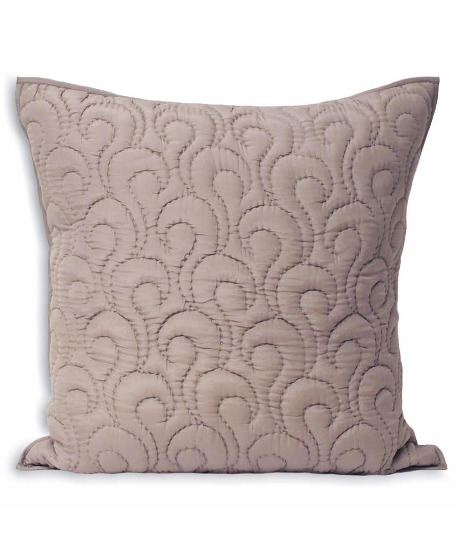 Nimes heather pattern cushion 55cm Sale - riva paoletti