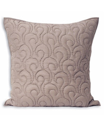 Nimes heather pattern cushion 55cm