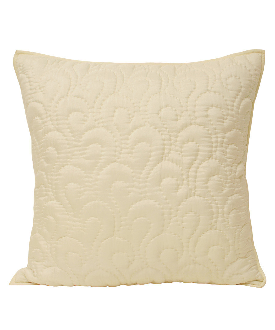 Nimes ivory pattern cushion 55cm Sale - riva paoletti