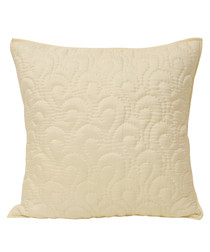 Nimes ivory pattern cushion 55cm
