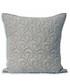 Nimes pewter pattern cushion 55cm Sale - riva paoletti Sale