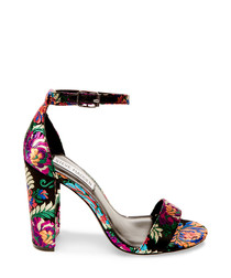 Carrson multicoloured floral high heels