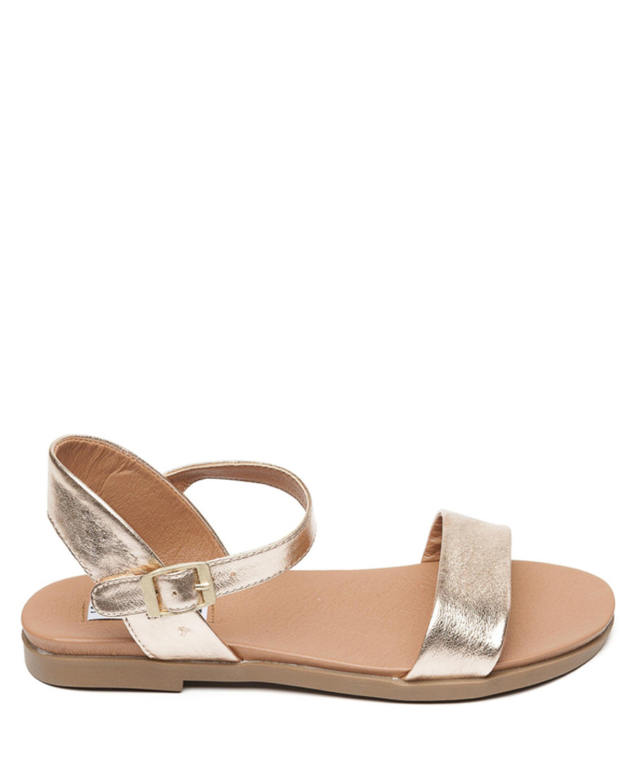 Dina rose gold buckle sandals Sale - Steve Madden