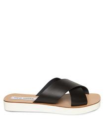Trent black & brown sandals