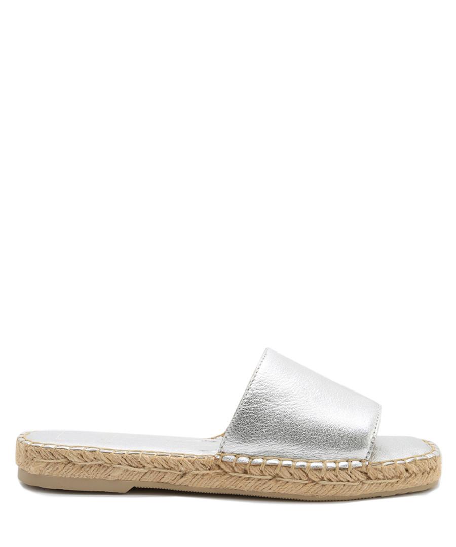 Bobbi silver metallic style slippers Sale - Steve Madden