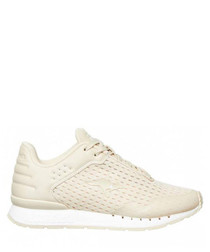 Coil R Mesh smoke & white sneakers