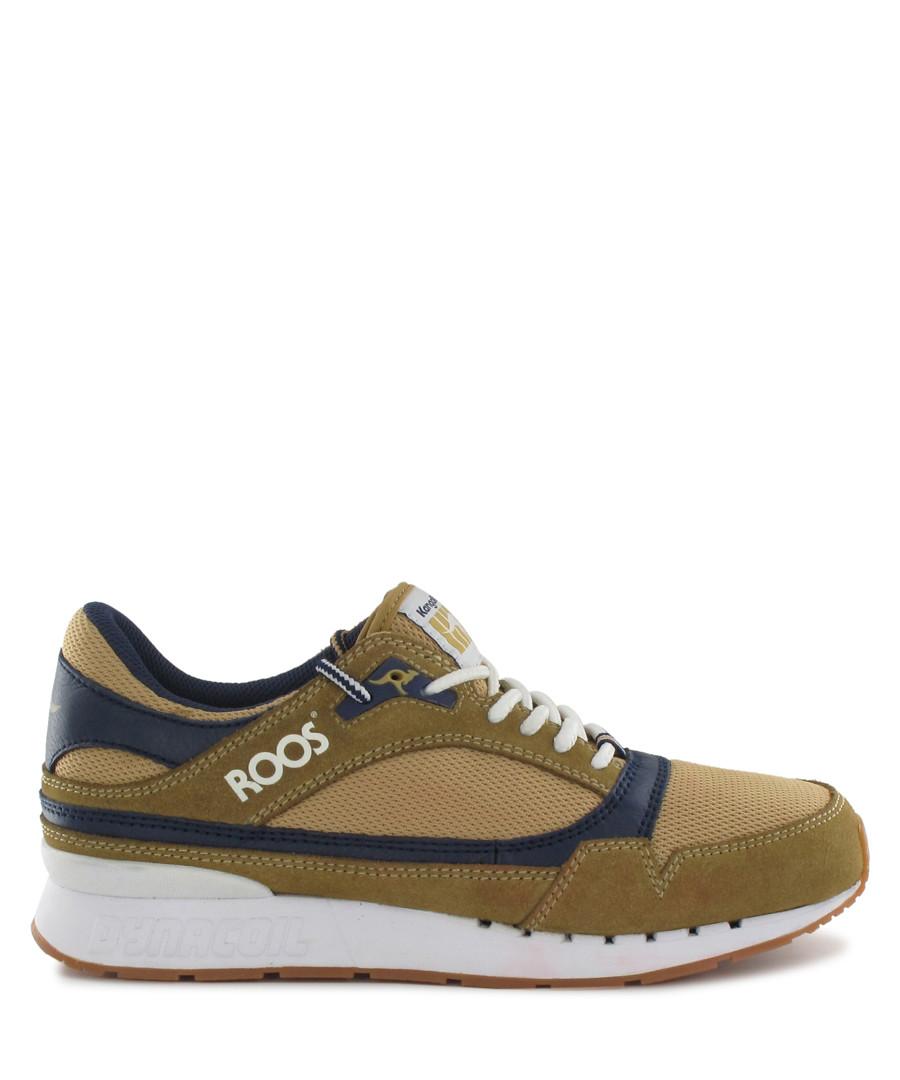 b36b5301fa2c Rage brown   green leather sneakers Sale - KangaROOS
