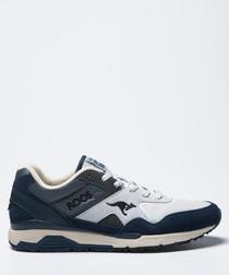 Runaway ROOS blue & white sneakers