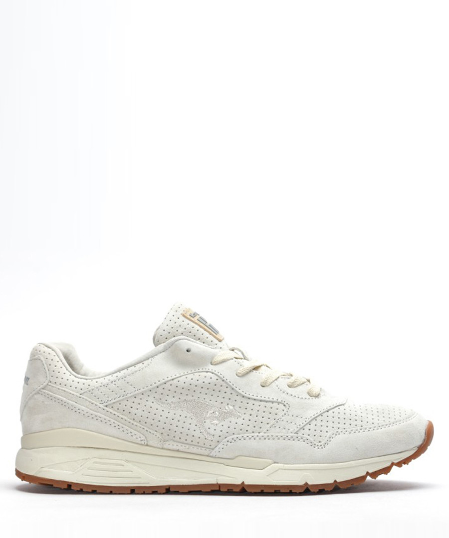 Ultimate leather white suede sneakers Sale - KangaROOS