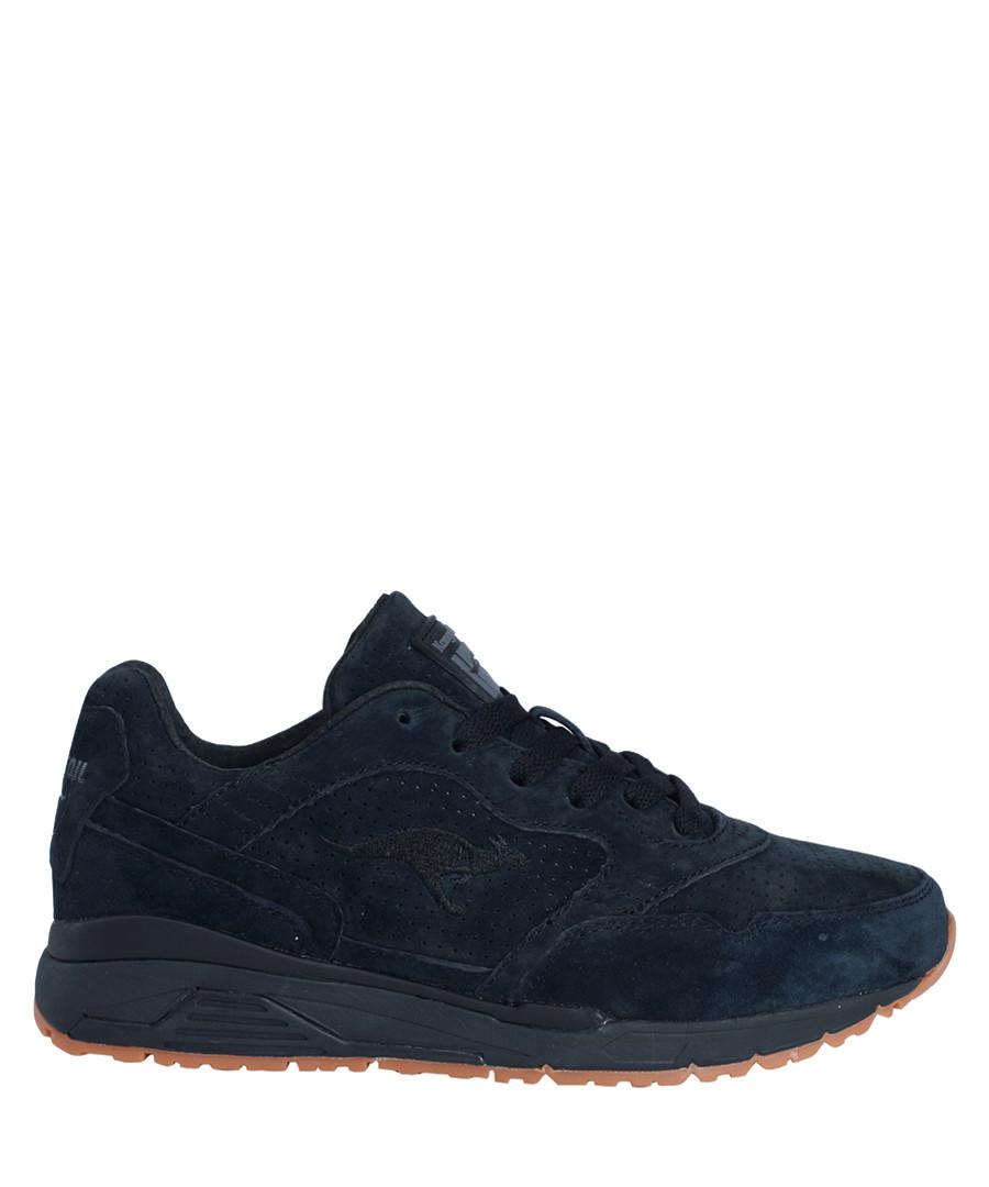 Ultimate leather black suede sneakers Sale - KangaROOS
