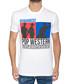 Men's white pure cotton graphic T-shirt Sale - dsquared2 Sale