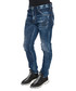 Men's blue cotton blend distressed jeans Sale - DSQUARED2 Sale