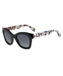 Multi-coloured & black sunglasses