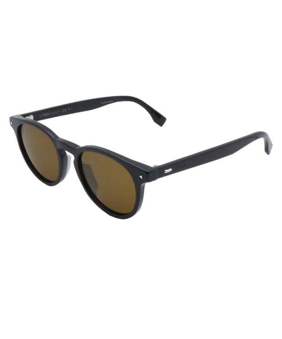 Black & yellow sunglasses Sale - fendi
