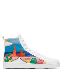 Women's multi-coloured sneakers